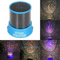 Starry Night Sky Projector LED Star Light Lamp Romantic Cosmos Master Kids Gift $8.46