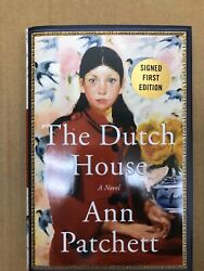 The Dutch House by Ann Patchett  SIGNED *1st ed1st printing*  free ship