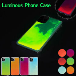 Glow Luminous Dynamic Quicksand Liquid Neon Sand Cover Case For iPhone Samsung $8.99