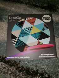 DiscGo Foldable Fits In Your Pocket Flies Over 130 Feet Frisbee Foldable $12.50