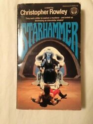 Starhammer by Christopher Rowley (vintage paperback)