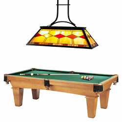 UL Listed Tiffany Style 3-Light Pool Table Chandelier. $152.23