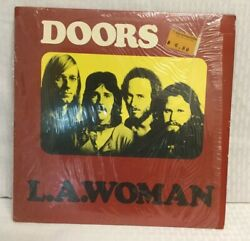 THE DOORS - L.A. WOMAN Elektra EKS-75011 Vinyl is VG++
