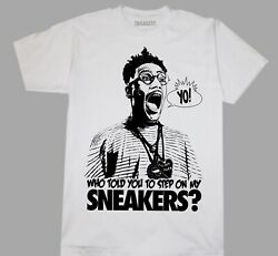 SNEAKER HEAD T SHIRT COLORS amp; SIZES BUGGIN OUT DO THE RIGHT THING JORDAN 4 NIKE $12.74