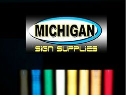 Premium Engineer Grade 7 Year Retro Reflective Vinyl for Cars and Signage $26.99