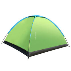 New Professional Wind & Waterproof Tent 2 People Camping Traveling Hiking Tent