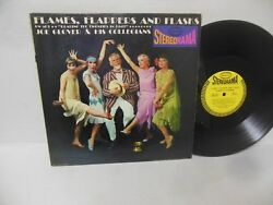 JOE GLOVER & HIS ORCHESTRA nr mint vinyl lp FLAMES FLAPPERS AND FLASKS stereo