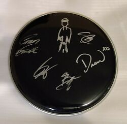 IN REAL LIFE SIGNED SHE DO CD VINYL  DRUM HEAD EXACT PROOF Chance Perez ART COA