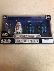 Disney Parks Exclusive 4PACK DROID FACTORY STAR WARS THE RISE OF SKYWALKER New