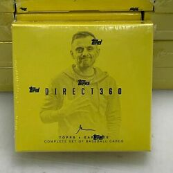 2019 Gary Vee Direct 360 Topps Set. Win the Golden Tickets ($5000 value) Win