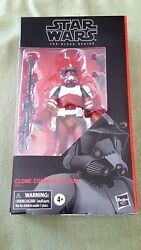 CLONE COMMANDER FOX Star Wars Black Series 6 inch MIB Gamestop Exclusive