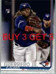 99cent 2019 TOPPS UPDATE BASEBALL CARDS YOU PICK COMPLETE YOUR SET List US1 -300