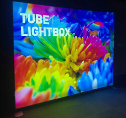 10ft EZ Tube Lightbox Display Trade Show Back Wall with Single Graphic Printing