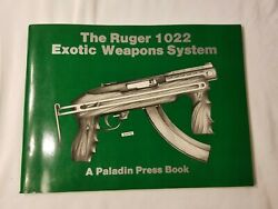 The Ruger 1022 Exotic Weapon System ~ 1983 ~ Paperback ~ Illustrated Guide