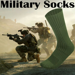 4 Pairs US Army Military Boot Socks Combat Trekking Hiking Out Door Activities $14.99