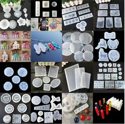 Silicone Resin Mold for DIY Jewelry Pendant Making Tool Mould Handmade Craft $2.08