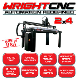 WRIGHT CNC LIGHT SERIES 2x4 PLASMA WATER PAN