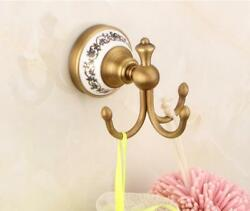 Bathroom Accessories Wall Mounted Hooks Towel Clothes Hanger Holder Kitchen Took