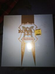 MADONNA SEALED THE ROYAL BOX SATIN CD BOX SET EDITION $270.00