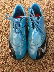 Nike Boys Soccer Cleats Blue Youth Sz 1.5 $4.30