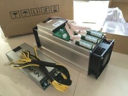 4-Pack Antminer S9 13.5 THs w Power Supply APW3++ In Stock Imediate Delivery