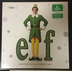 NEWBURY COMICS EXCLUSIVE ELF SOUNDTRACK GREEN & WHITE VINYL. LIMITED TO 1000