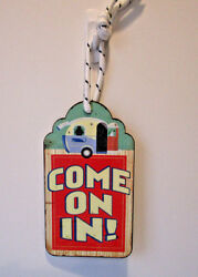 Come On In ! Sign ~ by: Two's Company