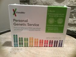 23andMe Personal Genetic Service DNA Saliva Kit