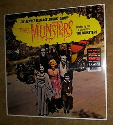 The Munsters Exclusive ORANGE Pumpkin Colored Vinyl LP Limited 500 Copies New