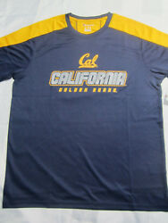 NCAA California Cal Golden Bears Champion Impact T Shirt Medium Large XL or 2XL $12.49