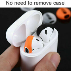 1 Pair Earpods Airpod Cover Case Compatible with airpods 2amp;1 Anti Slip Silicone $1.99