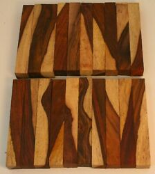 20 Cocobolo Pen Blanks With Sapwood 34