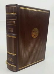 Franklin Library James Joyce Ulysses Dublin 1904 Leather of 100 Greatest Set