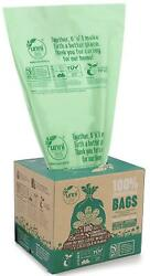 Food Scrap Small Kitchen Trash Compostable Bags 2.6 Gallon 9.84 Liter 100 Count $19.35