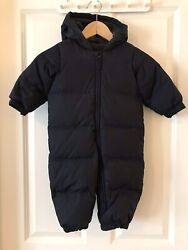 Baby winter jumpsuit hooded $19.00