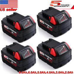 For Milwaukee M18 18Volt Lithium XC 9.0Ah Extended Battery 48-11-1852 48-11-1860 $22.99