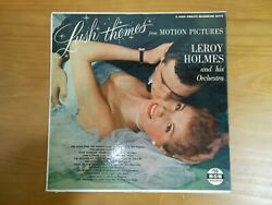 Vinyl LP Lush Themes From Motion Pictures Leroy Holmes 1955 MGM E3172.