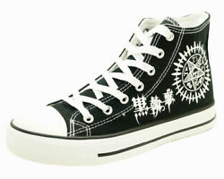 Black Butler Cosplay Shoes Unisex Canvas Shoes Womens and Mens Sneakers