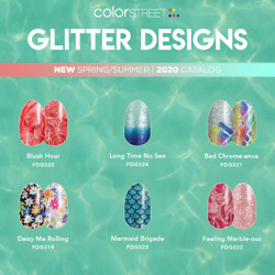Color Street Nail Strips (Buy 3 Get the 4th set FREE)  (FREE SHIPPING)
