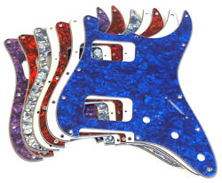 HH Pickguard Strat Replacement Double Humbucker Guard Clearance Color Choice