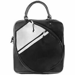 Tennis Bag For Women Travel Duffel Black and White Teens Tote Sports Gym Carry $46.81