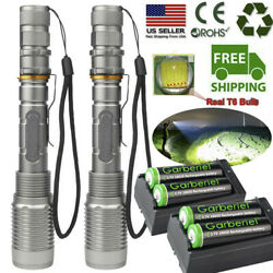 Tactical Police 990000Lumens T6 LED 5 Modes Flashlight Aluminum Zoom Torch $23.88