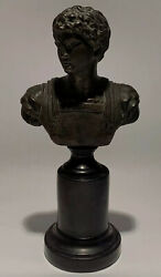 Vintage Bust of Alcibiades on Pedestal - 9