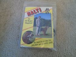 HALTI by Roger Mugford Dog Headcollar Size O Tiny Dogs New in Package $9.99