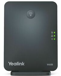 Yealink W60B 8 Line HD VoIP DECT IP Base Cordless Station w Power - NO STAND