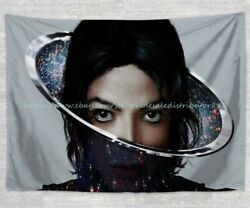 wall hanging Michael Jackson tapestry cloth poster wall beach towel $17.89