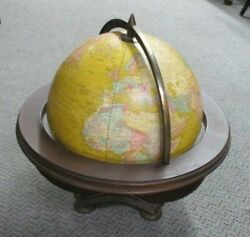 Vintage George Cram Co. Butler World Globe 11