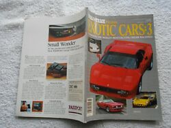 ROAD & TRACK PRESENTS EXOTIC CARS :3- Magazine $13.50