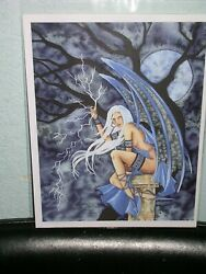 Amy Brown - Lightning - OUT OF PRINT - RARE