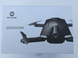 Holy Stone HS160 Shadow FPV RC Drone 720P HD Camera Wi-Fi Real Time - OPEN BOX $39.99